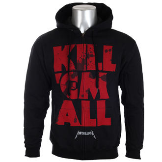 hoodie men's Metallica - Mutated Kill Em All Mutated Black - - RTMTLZHBKILL