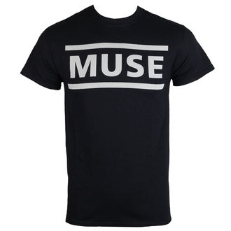 t-shirt metal men's Muse - Logo Black -, Muse
