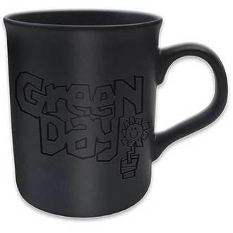 cup Green Day - Flowerpot Logo - ROCK OFF - GDMUG09
