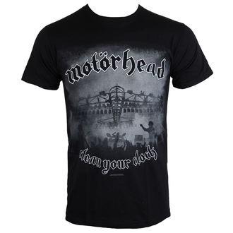 t-shirt metal men's Motörhead - Clean Your Clock B&W - ROCK OFF, ROCK OFF, Motörhead