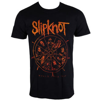 t-shirt metal men's Slipknot - The Wheel - ROCK OFF - SKTS21MB
