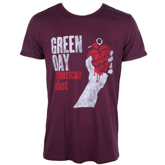 t-shirt metal men's Green Day - American Idiot - ROCK OFF - GDTS19MNR