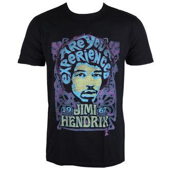 t-shirt metal men's Jimi Hendrix - Experienced - ROCK OFF, ROCK OFF, Jimi Hendrix