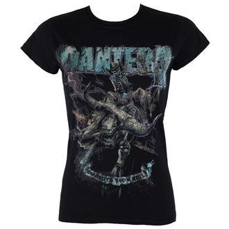 t-shirt metal women's Pantera - Vintage Rider - ROCK OFF, ROCK OFF, Pantera