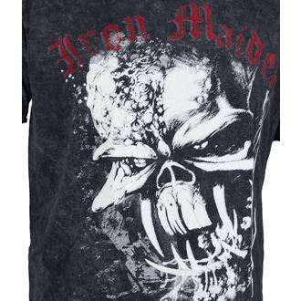 t-shirt metal men's Iron Maiden - FF Eddie Puff Illuminous - ROCK OFF, ROCK OFF, Iron Maiden