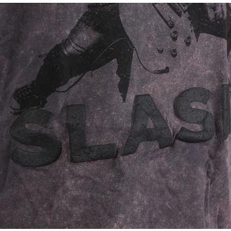 t-shirt metal men's Guns N' Roses - Snowblind Acid Wash Puff Print - ROCK OFF, ROCK OFF, Guns N' Roses