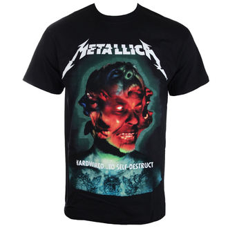 t-shirt metal men's Metallica - Hardwired Album Cover -, Metallica