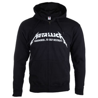 hoodie men's Metallica - Hardwired Album Cover - - RTMTLZHBHAR