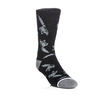 socks SULLEN - Machined - Black/Grey, SULLEN