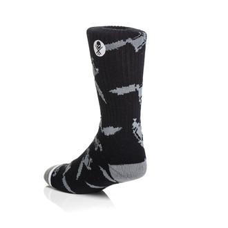 socks SULLEN - Machined - Black/Grey - SCA0072_BKGY