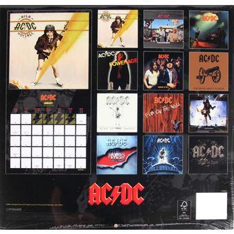 calendar for 2017 - AC/DC, AC-DC