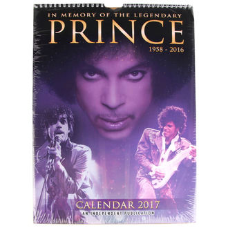 calendar for 2017 - Prince