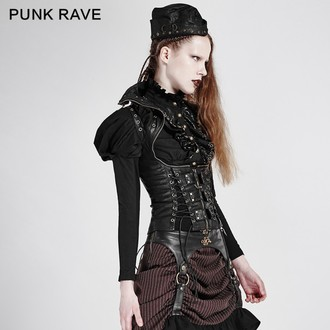 corset women's Punk Rave - The Crypt, PUNK RAVE