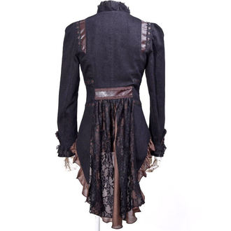 jacket (suit jacket) women's PUNK RAVE - UMBRA - BROWN
