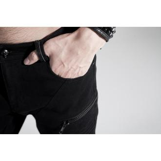 pants men PUNK RAVE - Black Engine - K-154_B
