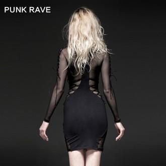 dress women PUNK RAVE - Fatal Kiss - Q-230_B