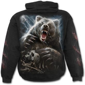 hoodie men's - BEAR CLAWS - SPIRAL - T134M45119