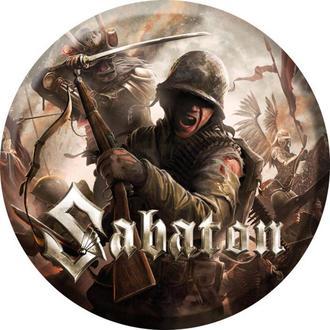 badge Sabaton - The last stand - NUCLEAR BLAST, NUCLEAR BLAST, Sabaton