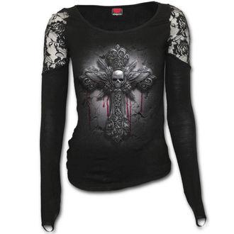 t-shirt women's - CRUCIFIX - SPIRAL - D071F443