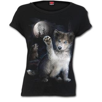 T-Shirt women's - WOLF PUPPY - SPIRAL - F032F744
