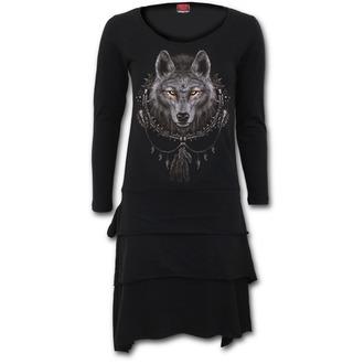 dress women SPIRAL - WOLF DREAMS - T035F133
