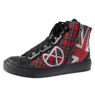 high sneakers women's - ANARCHY-PUNK - ALCHEMY GOTHIC, ALCHEMY GOTHIC