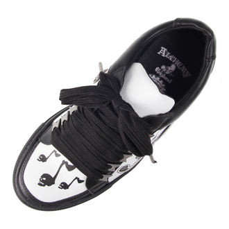 low sneakers women's - DEATH TONE-MUSIC - ALCHEMY GOTHIC