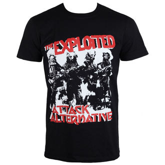 t-shirt metal men's Exploited - The Attack - PLASTIC HEAD, PLASTIC HEAD, Exploited