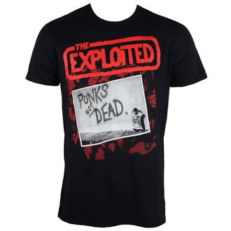 t-shirt metal men's Exploited - The Punks Not Dead - PLASTIC HEAD, PLASTIC HEAD, Exploited
