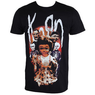 t-shirt metal men's Korn - Dolls - PLASTIC HEAD - PH10074