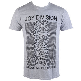 t-shirt metal men's Joy Division - Unknown Pleasures - PLASTIC HEAD - PH10116