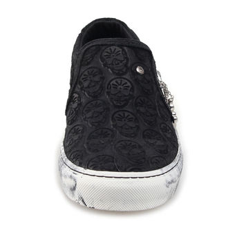 low sneakers women's - GOTH - STEELGROUND, STEELGROUND