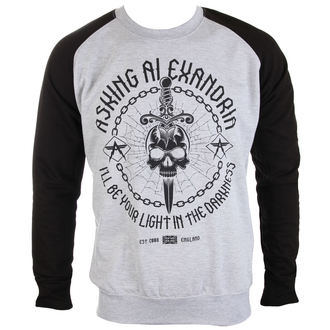sweatshirt (no hood) men's Asking Alexandria - Light In The Darkness - PLASTIC HEAD, PLASTIC HEAD, Asking Alexandria