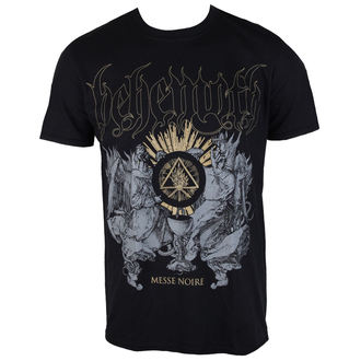 t-shirt metal men's Behemoth - Messe Noire - PLASTIC HEAD - PH9965