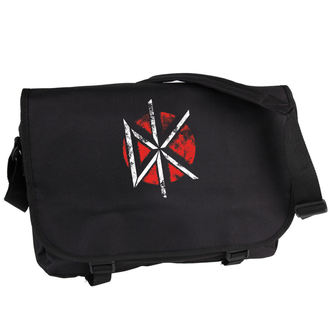 bag Dead Kennedys - Distressed Logo - Black - PLASTIC HEAD, PLASTIC HEAD, Dead Kennedys