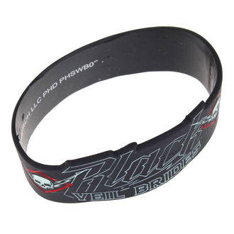 rubber bracelet Black Veil Brides - High Voltage - PLASTIC HEAD, PLASTIC HEAD, Black Veil Brides