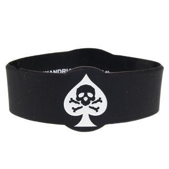 rubber bracelet Asking Alexandria - Skull Spade - PLASTIC HEAD, PLASTIC HEAD, Asking Alexandria
