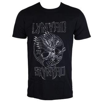t-shirt metal men's Lynyrd Skynyrd - Eagle Guitar 73 - PLASTIC HEAD - RTLS0125