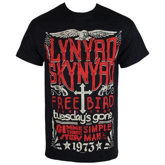 Metal T-Shirt men's Lynyrd Skynyrd - Freebird - PLASTIC HEAD - RTLS0127