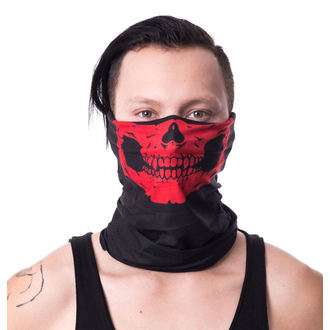 kerchief POIZEN INDUSTRIES - SM1 SNOOD - RED, POIZEN INDUSTRIES