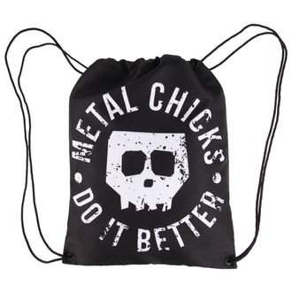 Bag METAL CHICKS DO IT BETTER - Skull - MCDIB002
