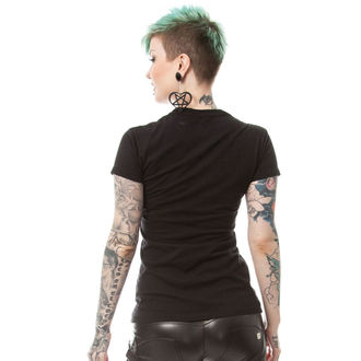 t-shirt women's - BONE CORSET T - POIZEN INDUSTRIES, POIZEN INDUSTRIES