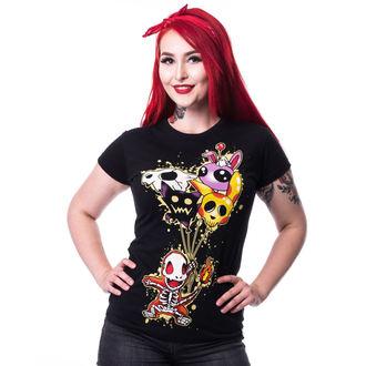 t-shirt women's - FLAME T - CUPCAKE CULT, CUPCAKE CULT