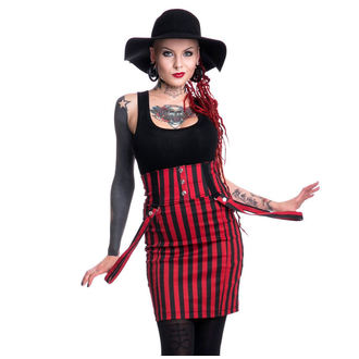 skirt women's HEARTLESS - BREAK - BLACK / RED, HEARTLESS