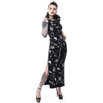 dress women HEARTLESS - BLACK MAGIC PENTAGRAM - BLACK - POI159