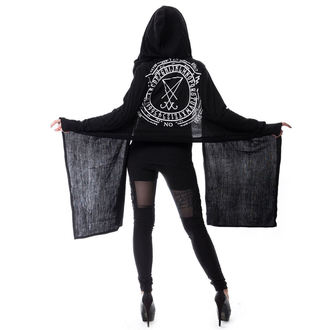 sweater women's (cardigan) HEARTLESS - LAZIRUS - BLACK - POI185