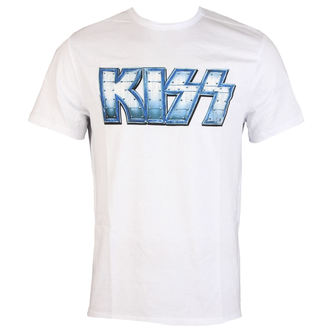 t-shirt metal men's Kiss - METAL DISTRESSED LOGO - AMPLIFIED, AMPLIFIED, Kiss