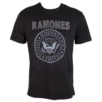 t-shirt metal men's Ramones - LOGO - AMPLIFIED, AMPLIFIED, Ramones