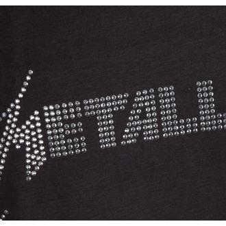 top men METALLICA - SILVER LOGO DIAMONTE - AMPLIFIED, AMPLIFIED, Metallica