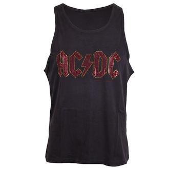 top men AC / DC - LOGO CHARCOAL - AMPLIFIED - AV319ACS